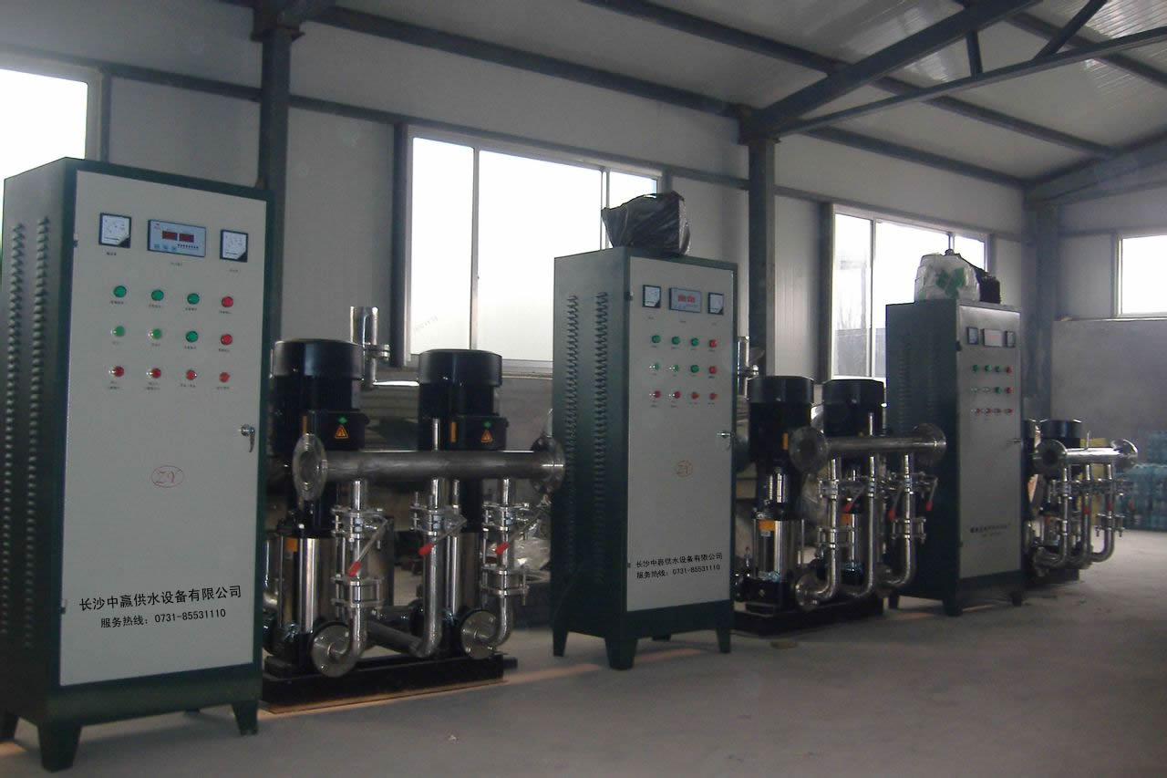 Variable frequency constant pressure water supply equipment